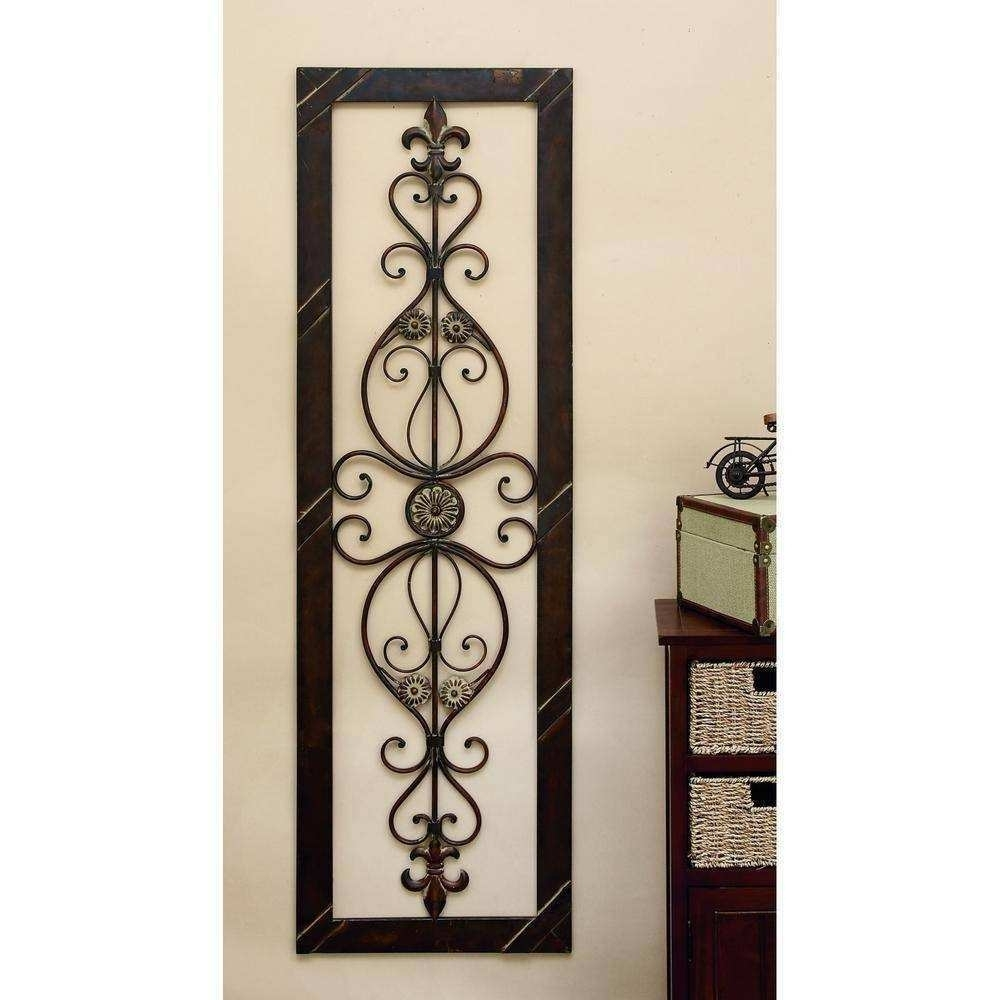 Bronze Wall Art Best Of 25 Ideas Of Metal Fleur De Lis Wall Art within Fleur De Lis Wall Art (Image 4 of 20)