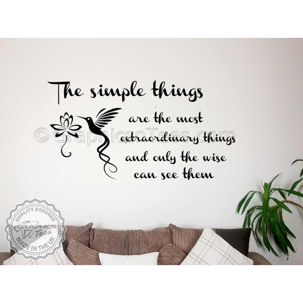 Buddha Inspirational Quote ,simple Things, Extraordinary In Motivational Wall Art (View 14 of 20)
