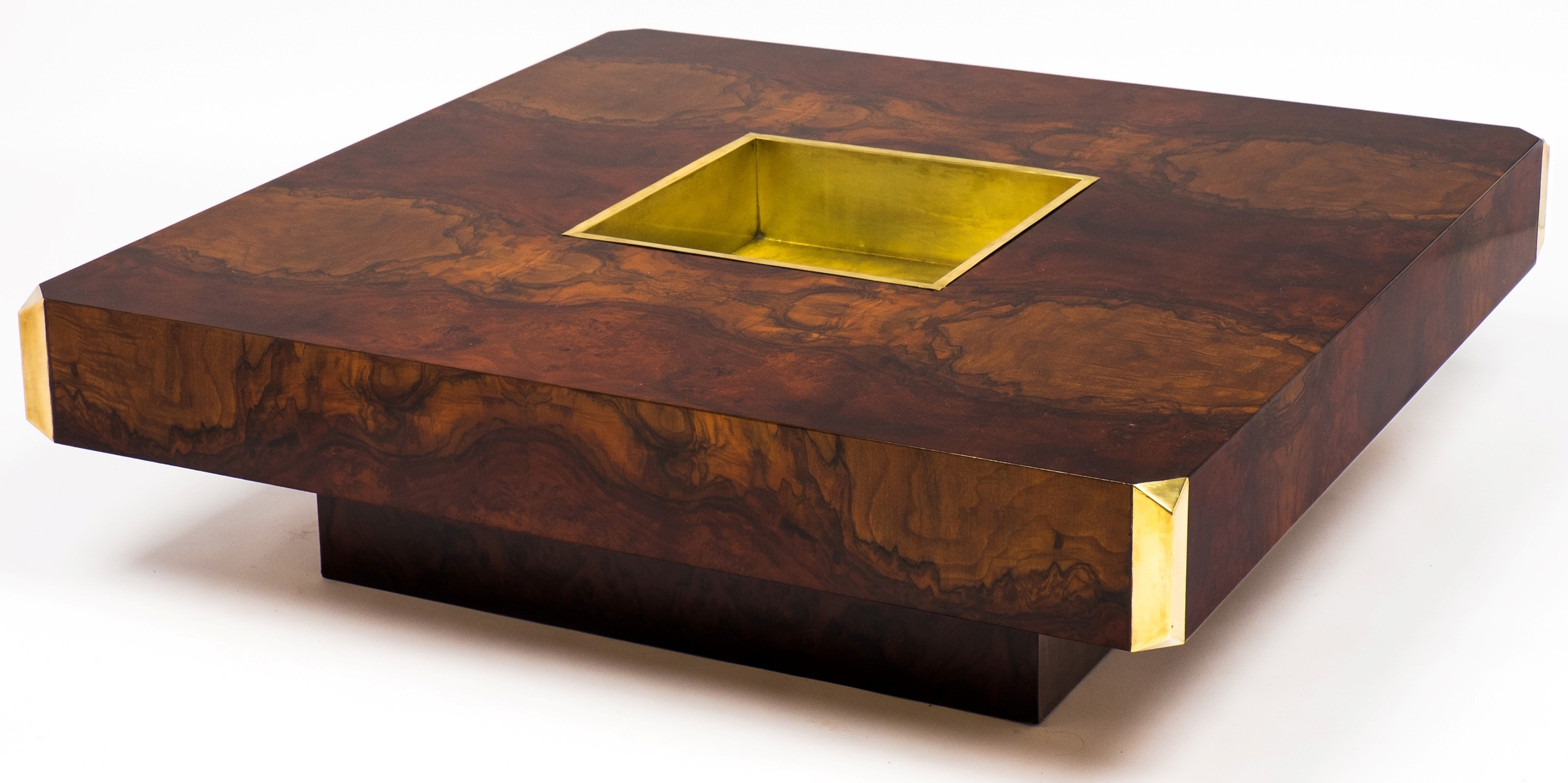 Burl Wood Coffee Table Furniture - Coffee Table Ideas regarding Oslo Burl Wood Veneer Coffee Tables (Image 5 of 30)