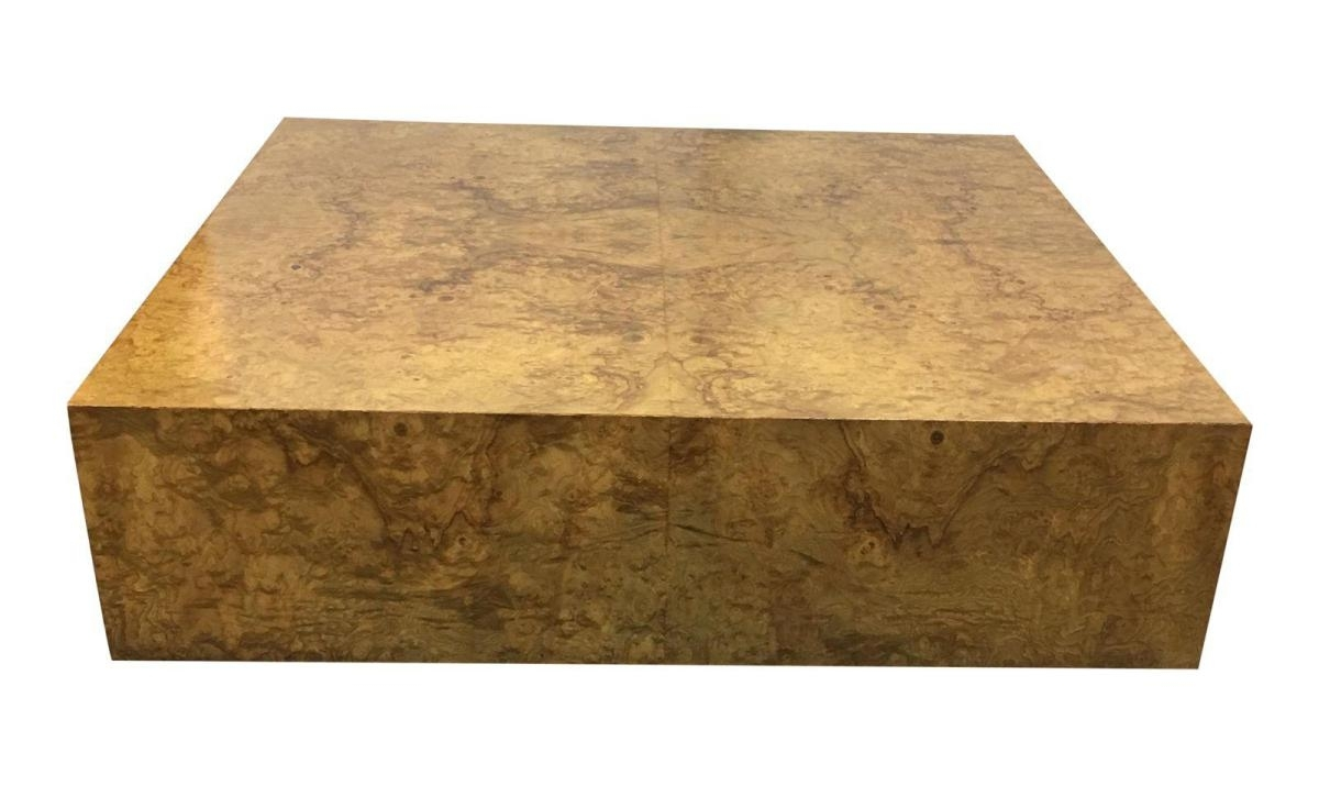 Burl Wood Coffee Tables | Wooden Thing with regard to Oslo Burl Wood Veneer Coffee Tables (Image 7 of 30)