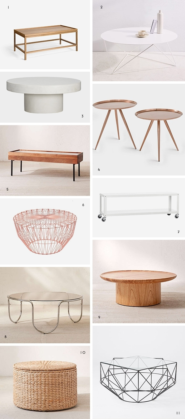 But First Coffee (Tables): The Coolest Coffee Tables Under $500 Regarding Shroom Large Coffee Tables (View 6 of 30)