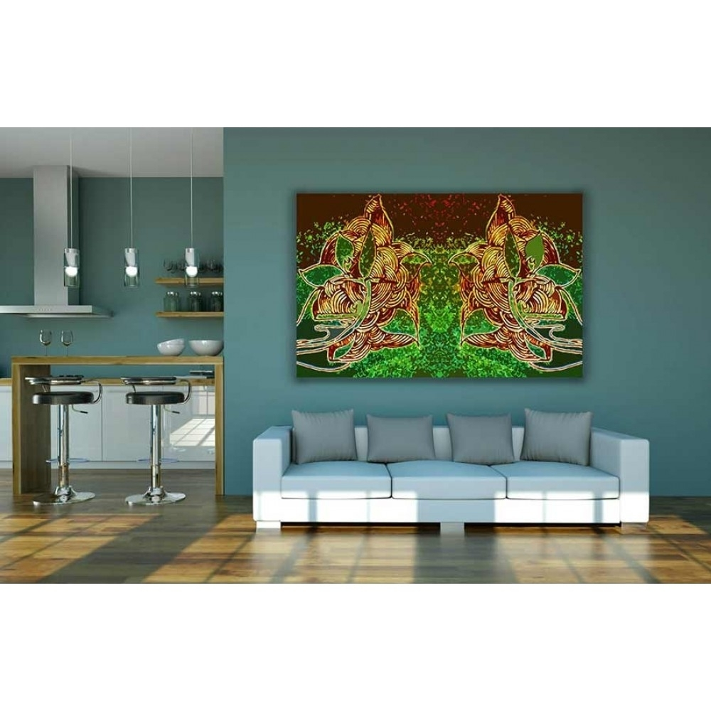 Buy Abstract Indian Style Canvas Wall Decor regarding Cheap Large Canvas Wall Art (Image 11 of 20)