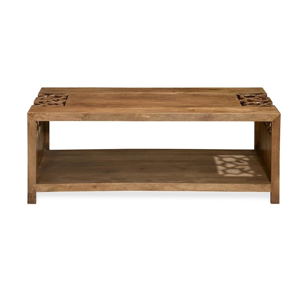 Buy Batik Center Table - @homenilkamal, Cherry Online - At Home for Batik Coffee Tables (Image 9 of 30)