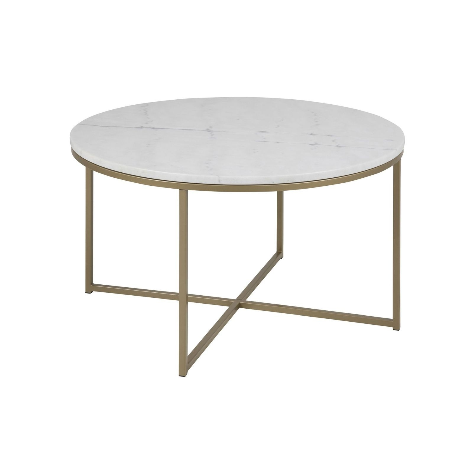 Cade Coffee Table Round (Brass) – Tables – Furniture – Furniture In Smart Round Marble Brass Coffee Tables (View 5 of 30)