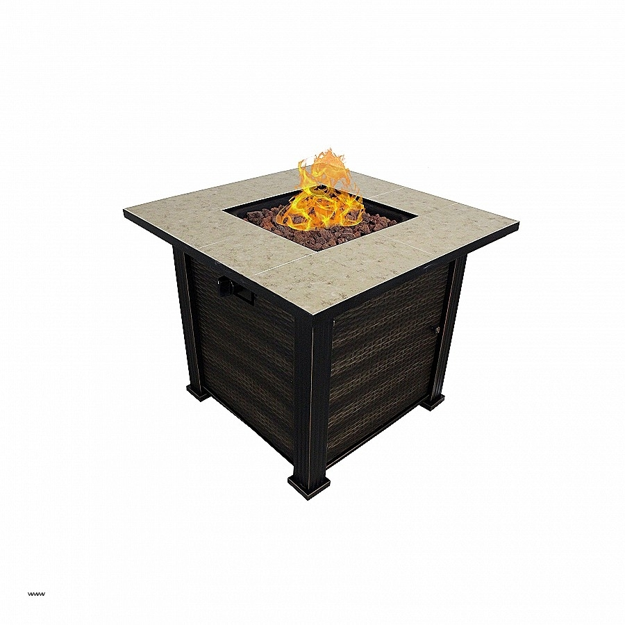 Campfire Coffee Table Elegant White Haven Porcelain Fire Pit Outdoor intended for Haven Coffee Tables (Image 3 of 30)