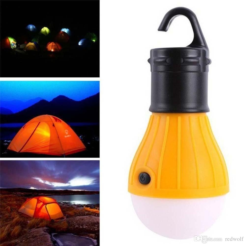 Camping Outdoor Light 3 Led Portable Tent Umbrella Night Lamp Hiking intended for Outdoor Orange Lanterns (Image 7 of 20)