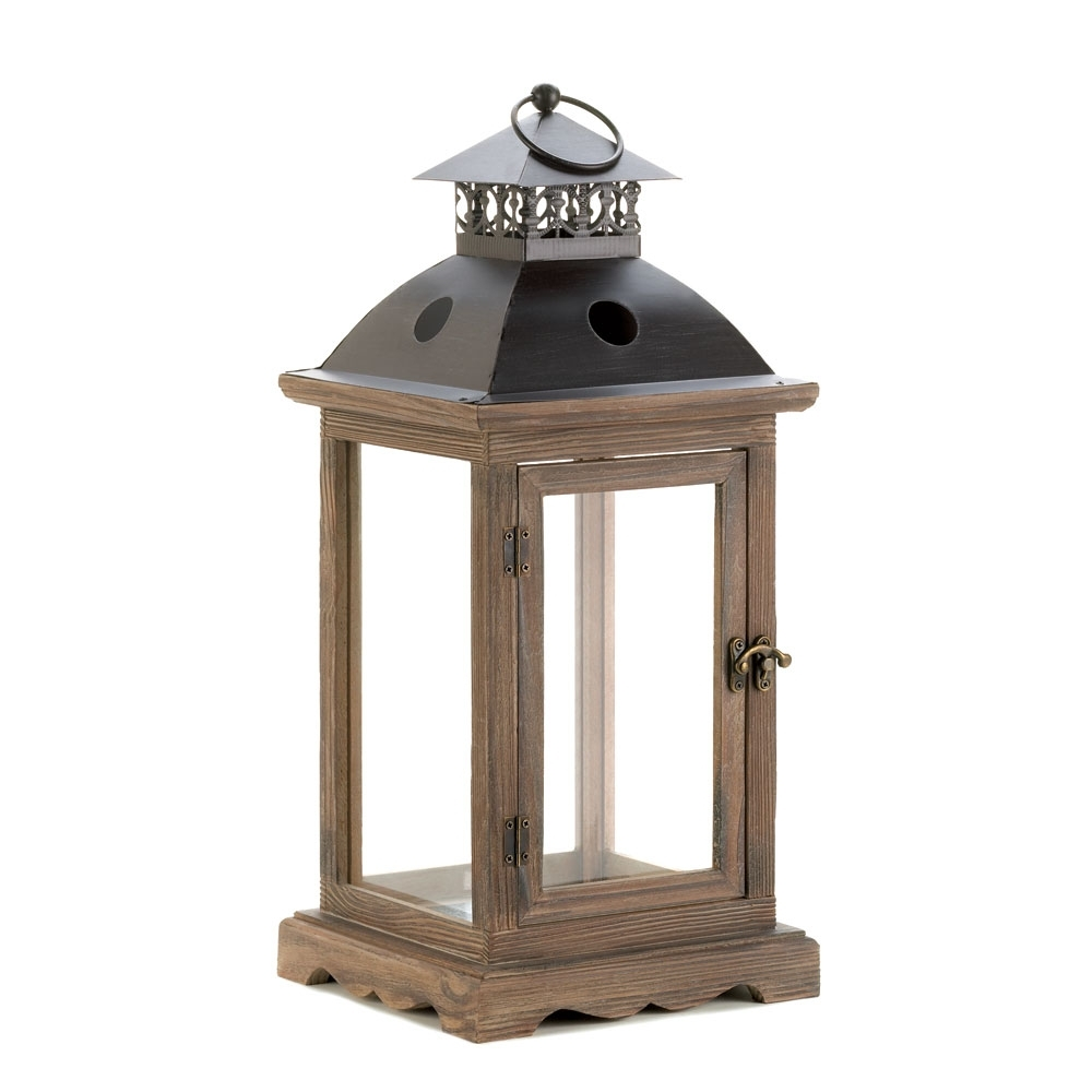 Candle Lantern Outdoor, Antique Metal Monticello Hanging Candle in Antique Outdoor Lanterns (Image 5 of 20)