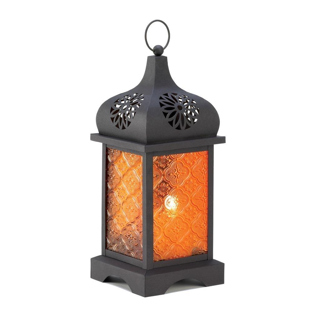 Candle Lanterns Decorative Patio Candle Lanterns, Antique Candle regarding Outdoor Orange Lanterns (Image 8 of 20)
