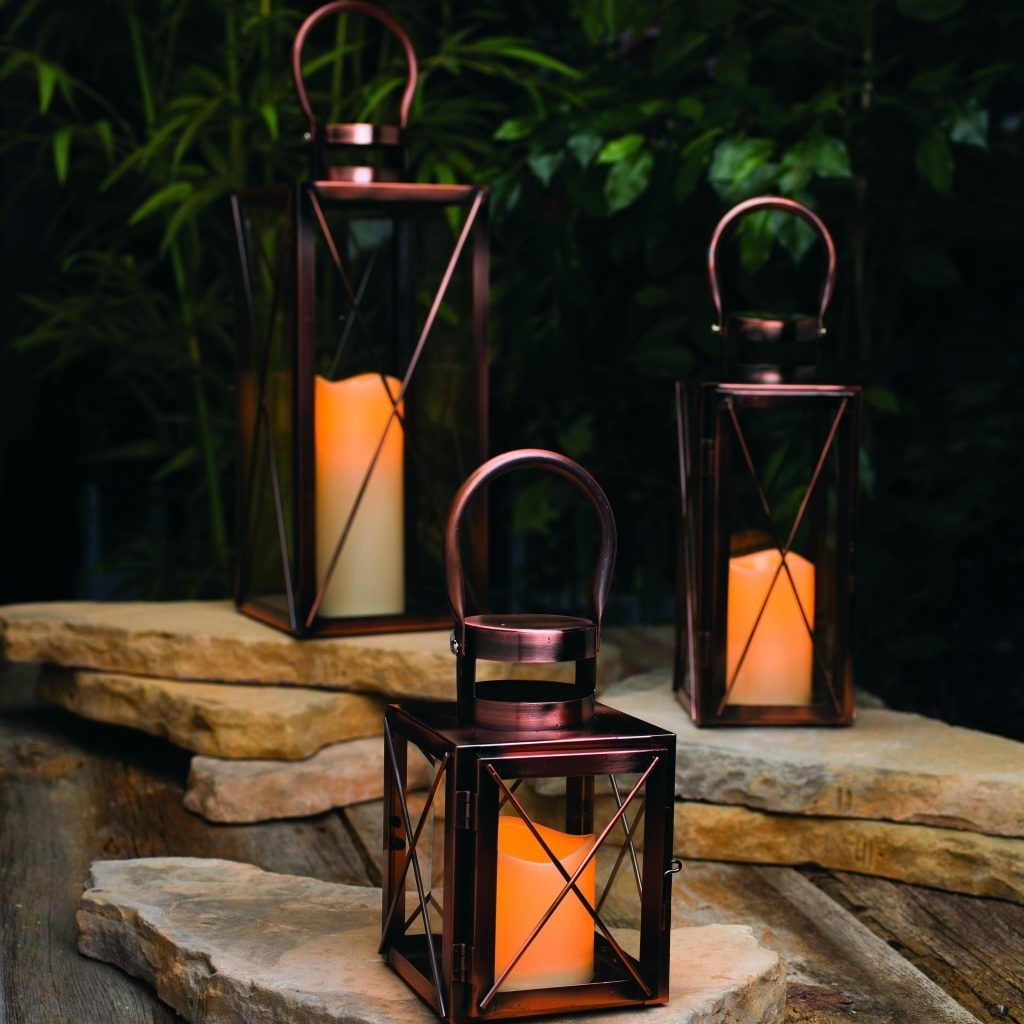Candles ~ Giant Candle Lantern Decorative Lanterns Outdoor Candles regarding Outdoor Big Lanterns (Image 4 of 20)