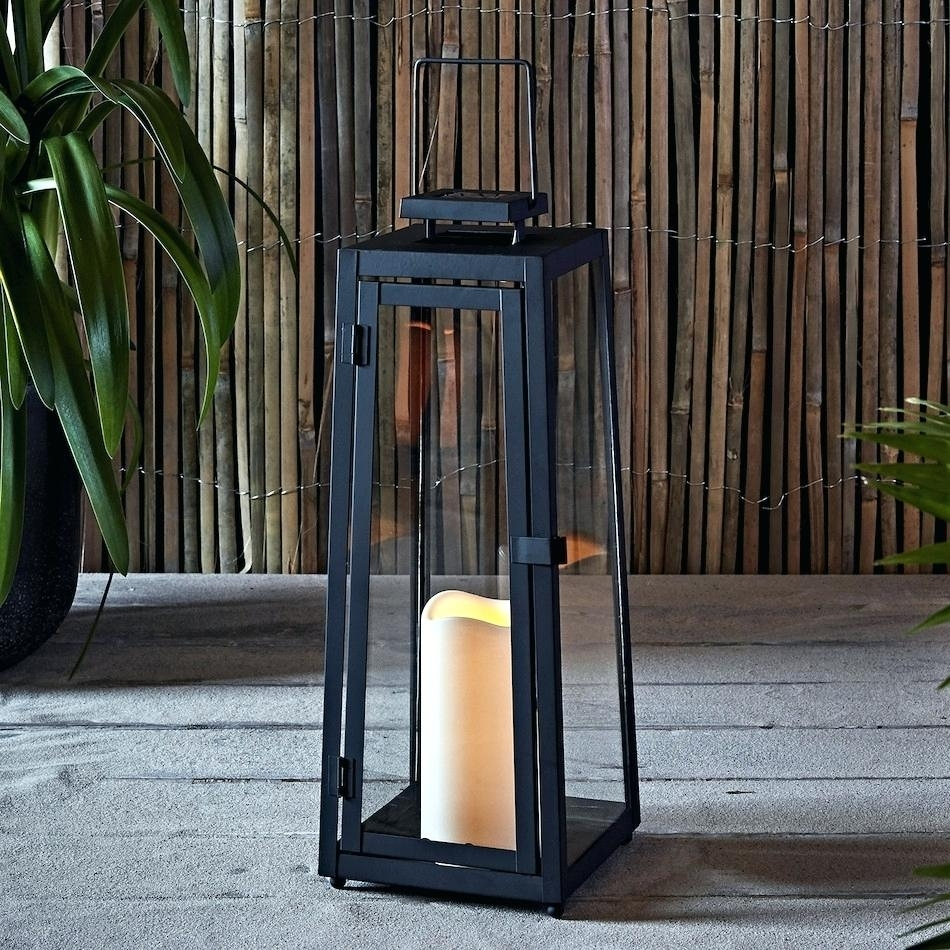 Candles: Oversized Candle Lanterns (View 12 of 20)