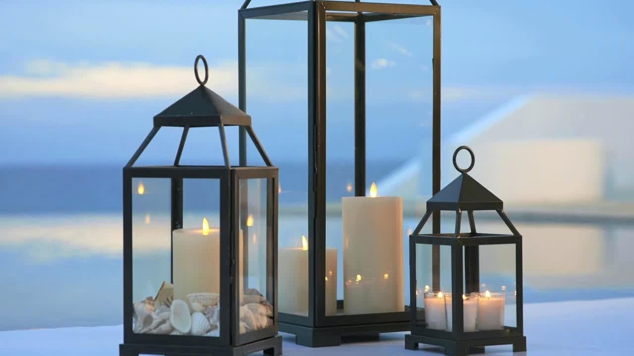 Candles ~ White Decorative Candle Lanterns Outdoor Lantern With With White Outdoor Lanterns (View 16 of 20)