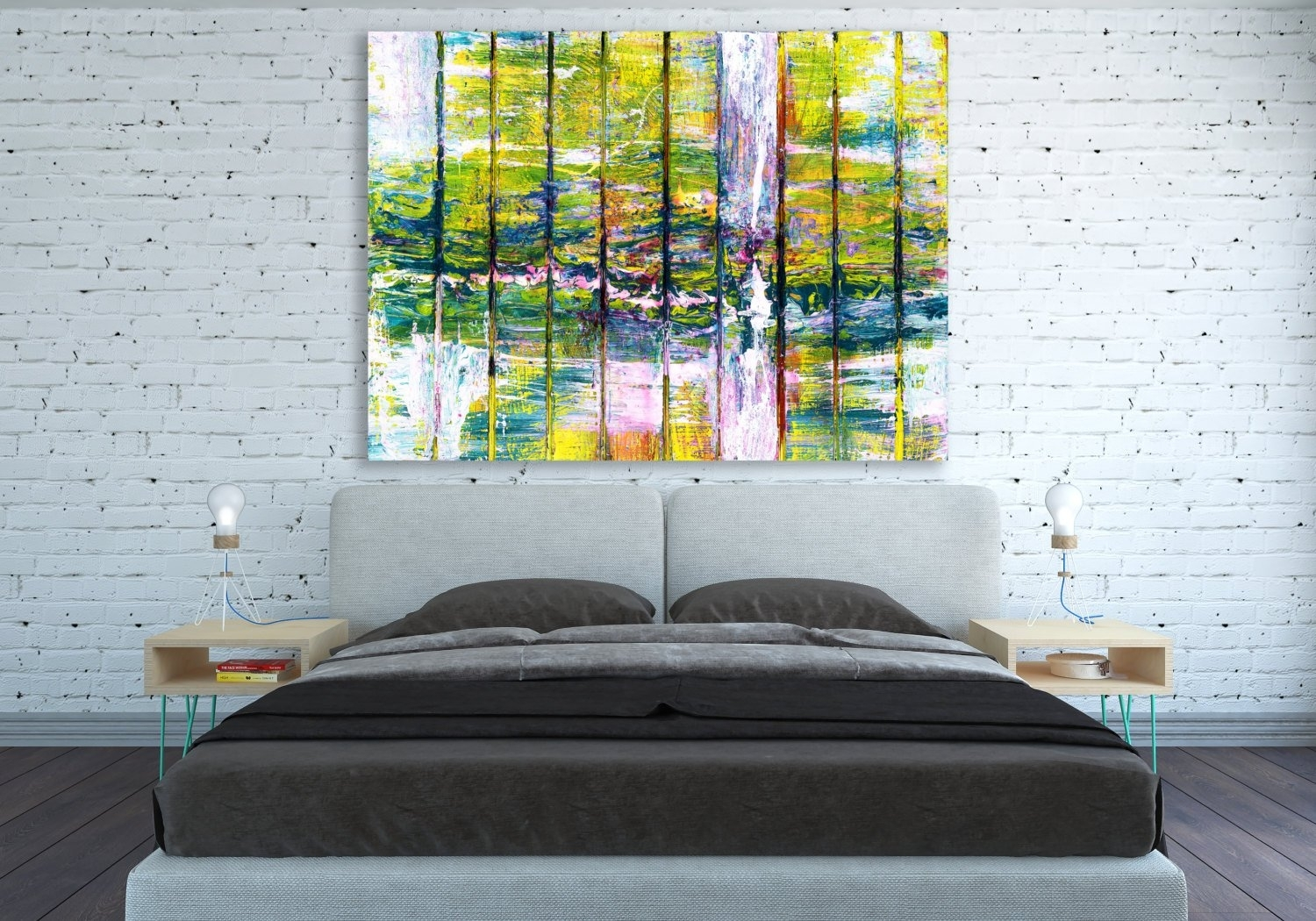 Canvas Print Abstract Extra Large Huge Wall Art Abstract Wall For Huge Wall Art (View 17 of 20)