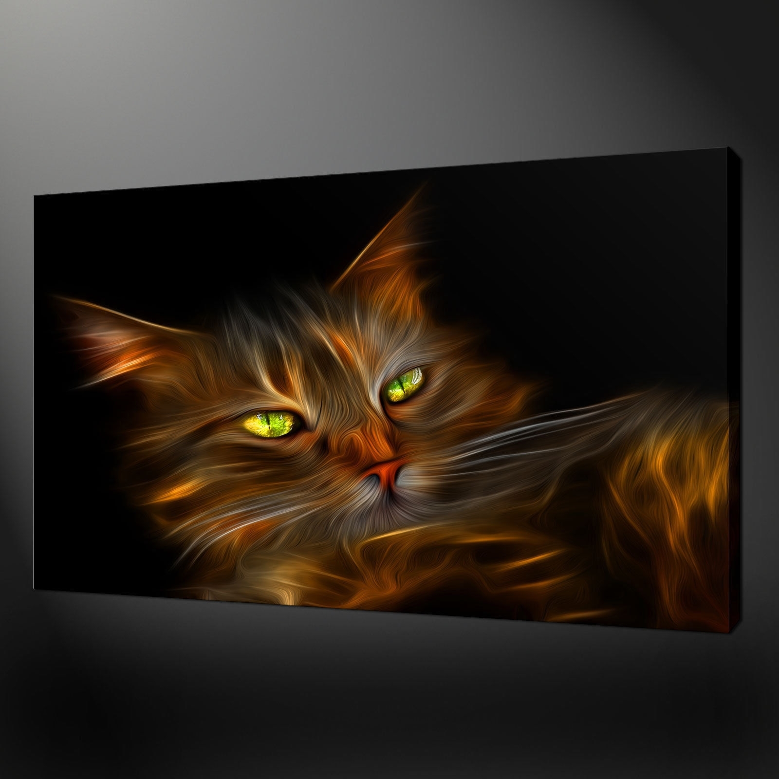 Canvas Print Pictures. High Quality, Handmade, Free Next Day Delivery. within Cat Canvas Wall Art (Image 10 of 20)