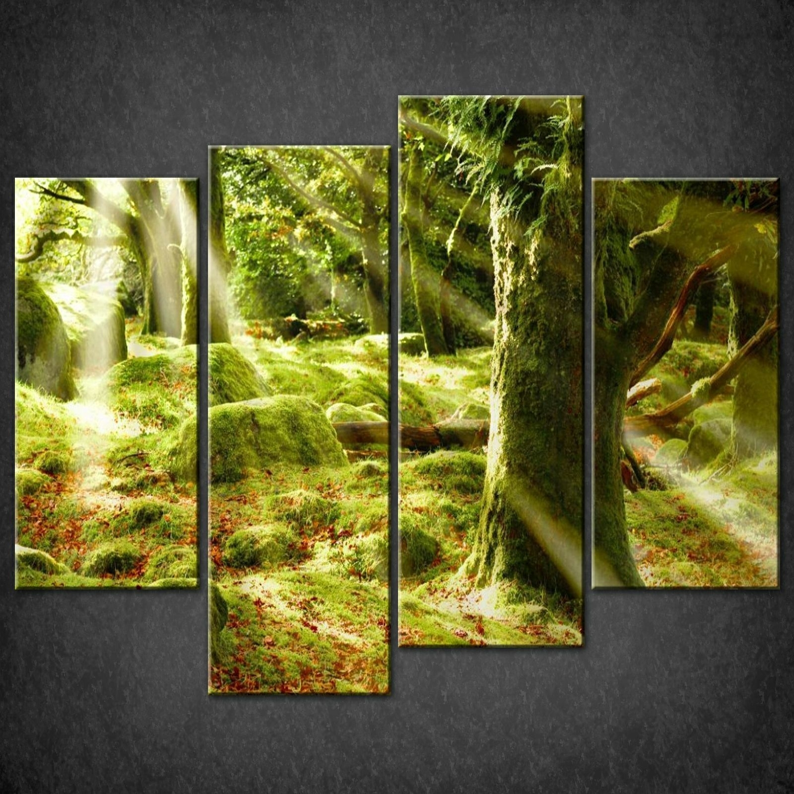 Canvas Wall Art Pictures Prints Larger Sizes Available Canvas Print pertaining to Green Wall Art (Image 6 of 20)