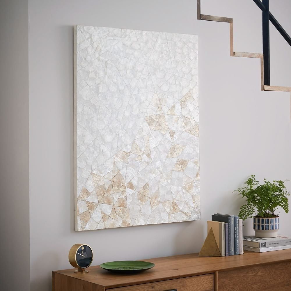 Capiz Wall Art – Crystal Formation | Wall Art | Pinterest | Walls In West Elm Wall Art (View 17 of 20)