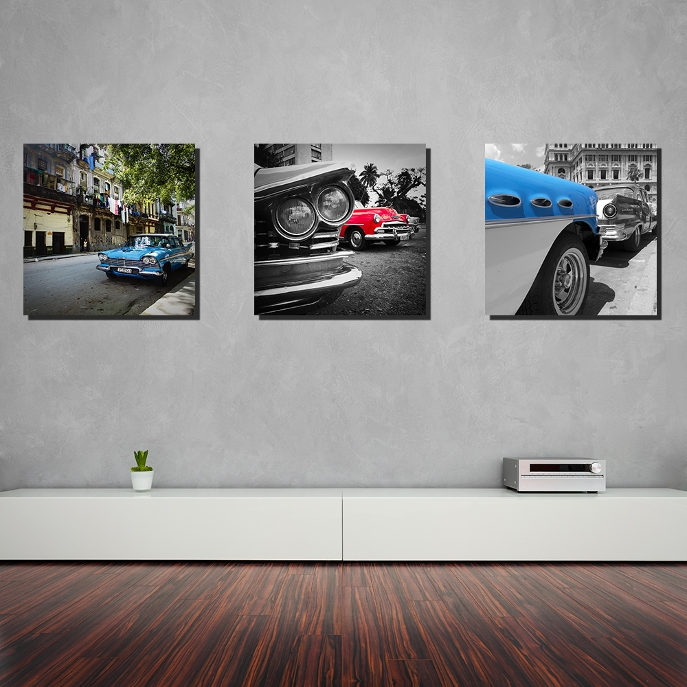 Car Canvas From Cuba | Cars And Roses throughout Car Canvas Wall Art (Image 14 of 20)