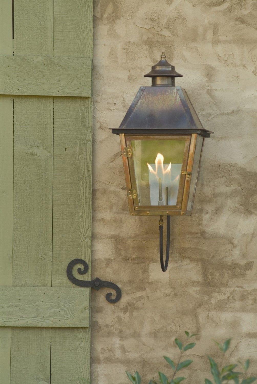 Carolina Lanterns Gas Lamp Atlas Wall Mount | Lighting | Pinterest with regard to Outdoor Gas Lanterns (Image 3 of 20)