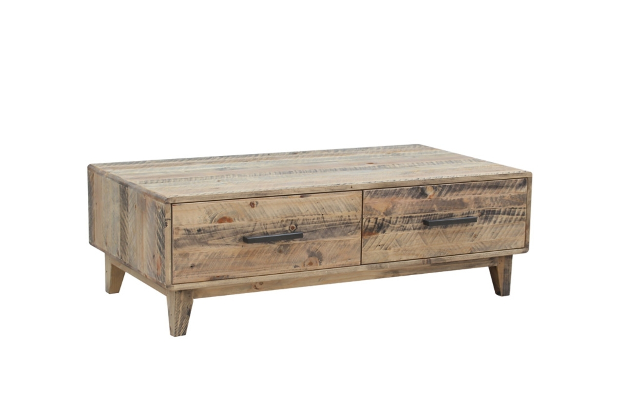 Casablanca – Coffee Table With Drawers – Furniture Super Mart Pertaining To Casablanca Coffee Tables (View 12 of 30)