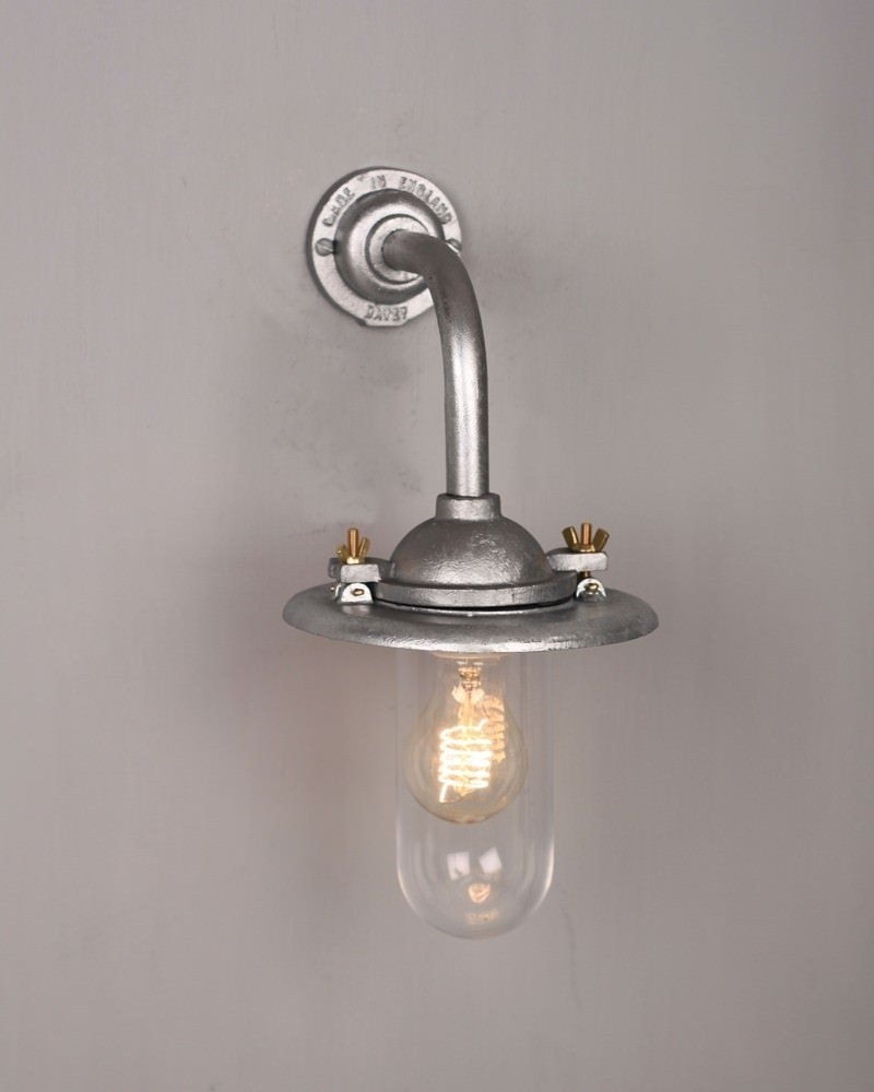 Cast Iron And Galvanised Cast Iron Ceiling Light Kitchen Ceiling throughout Outdoor Cast Iron Lanterns (Image 2 of 20)