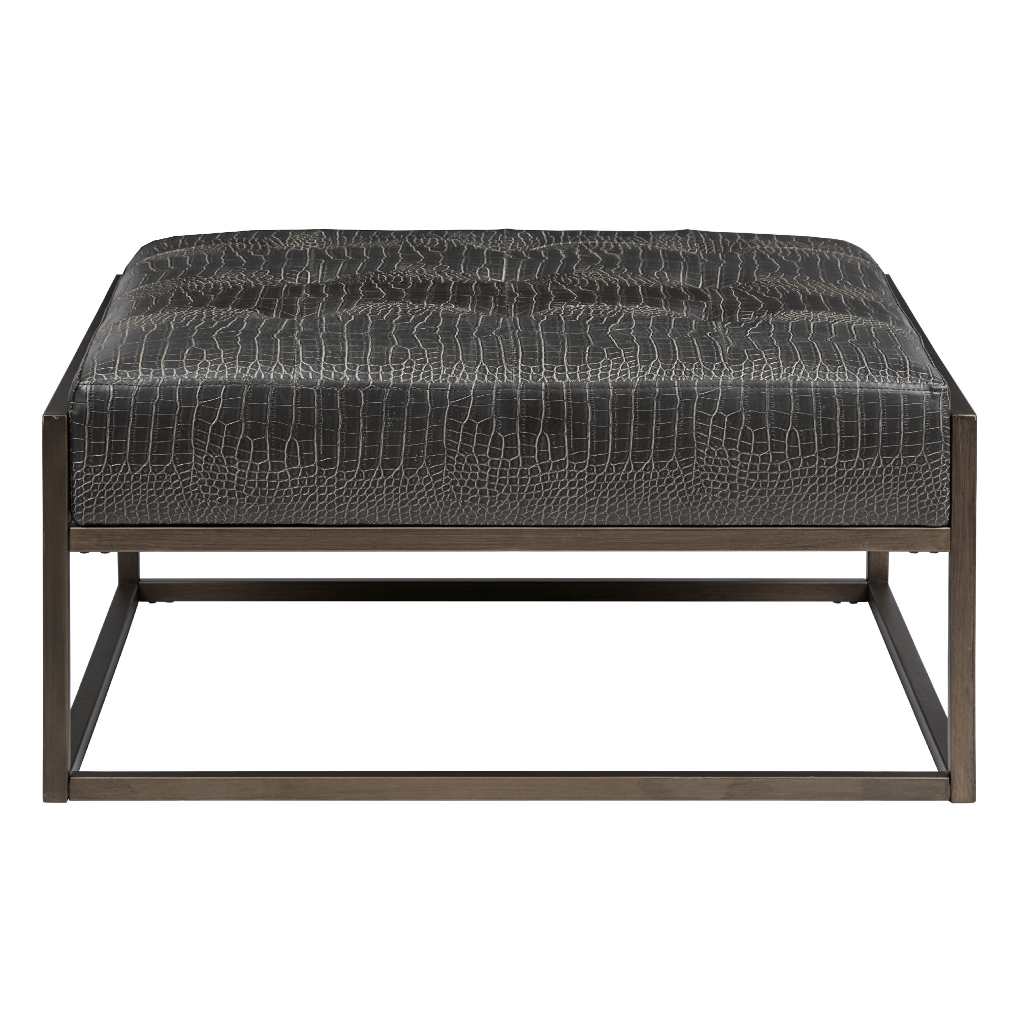 Cateline Cocktail Ottoman & Reviews | Allmodern for Elba Ottoman-Coffee Tables (Image 6 of 30)