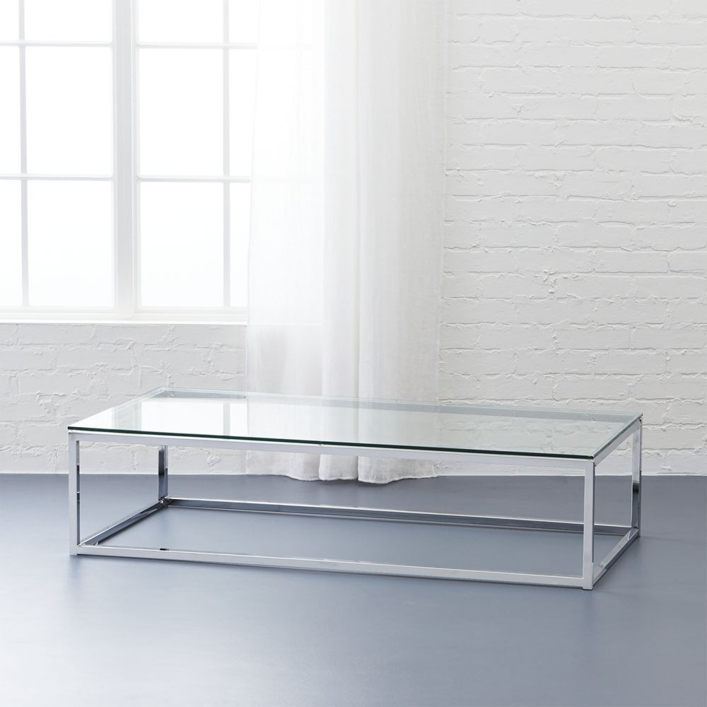 Cb2 Smart Glass Top Coffee Table | Domino In Smart Glass Top Coffee Tables (View 8 of 30)