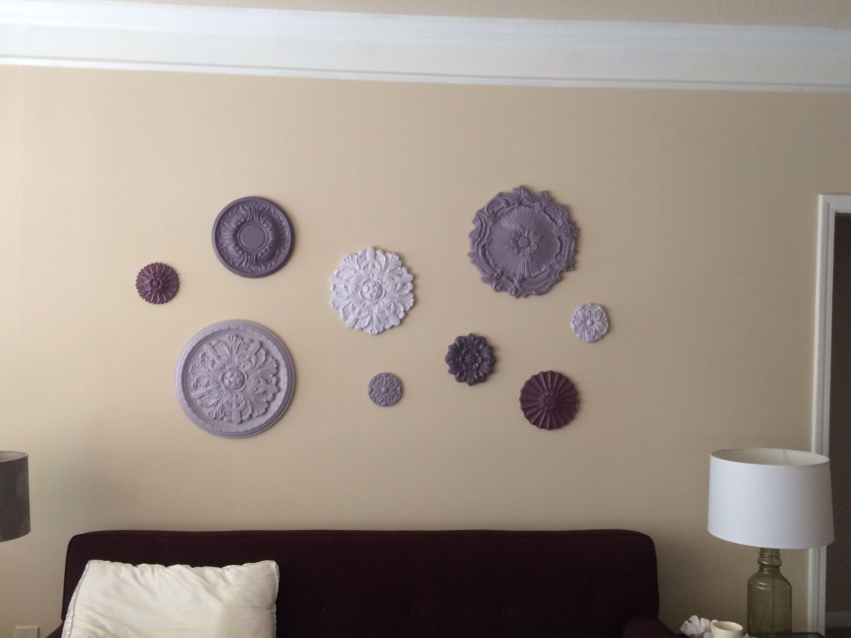 Featured Photo of Ceiling Medallion Wall Art