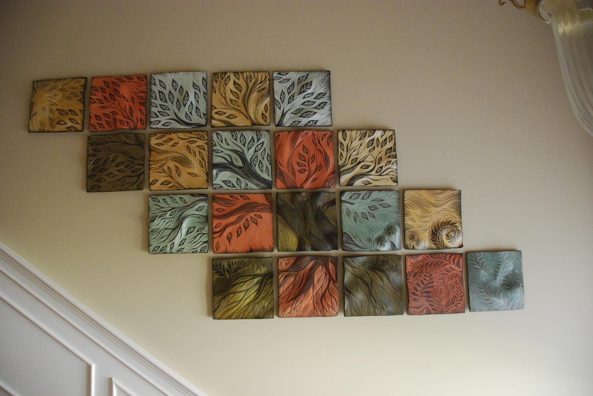 Ceramic Wall Art Marvelous Ceramic Wall Art - Wall Decoration And in Ceramic Wall Art (Image 7 of 20)