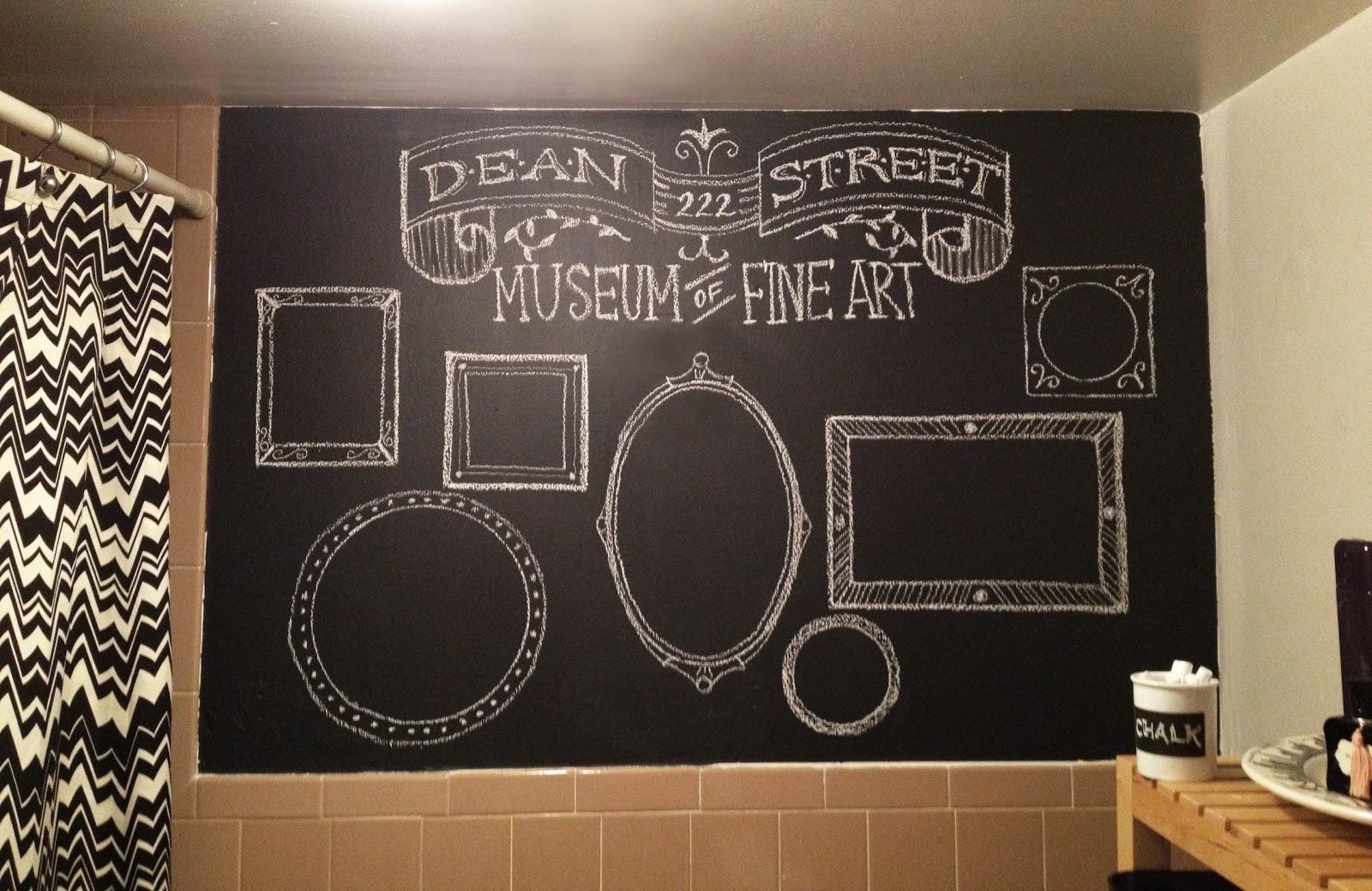 Chalkboard Wall Art Ideas - Elitflat with Chalkboard Wall Art (Image 7 of 20)