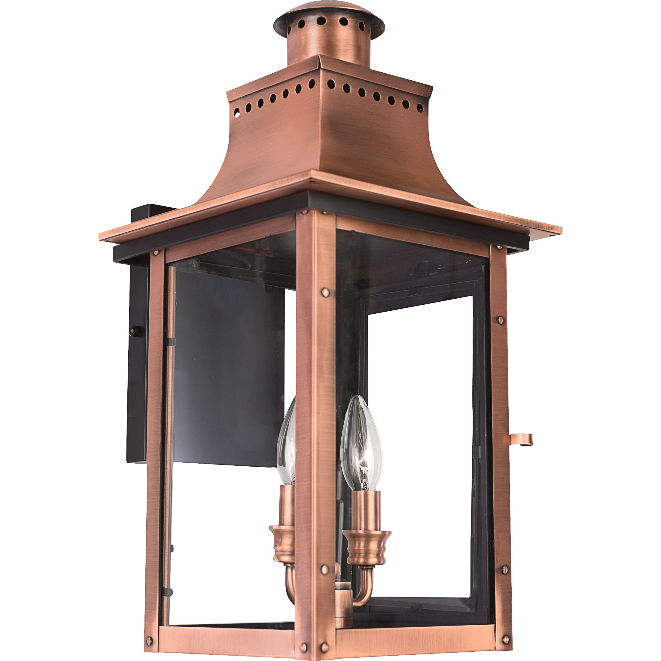 Chalmers Outdoor Lantern | Quoizel in Copper Outdoor Lanterns (Image 2 of 20)