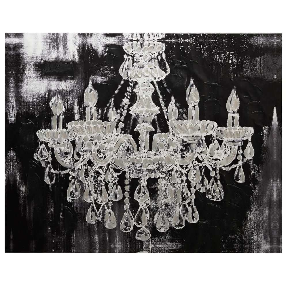 Chandelier Canvas Painting Inspirational $129 Canvas Chandelier With Regard To Chandelier Wall Art (View 3 of 20)