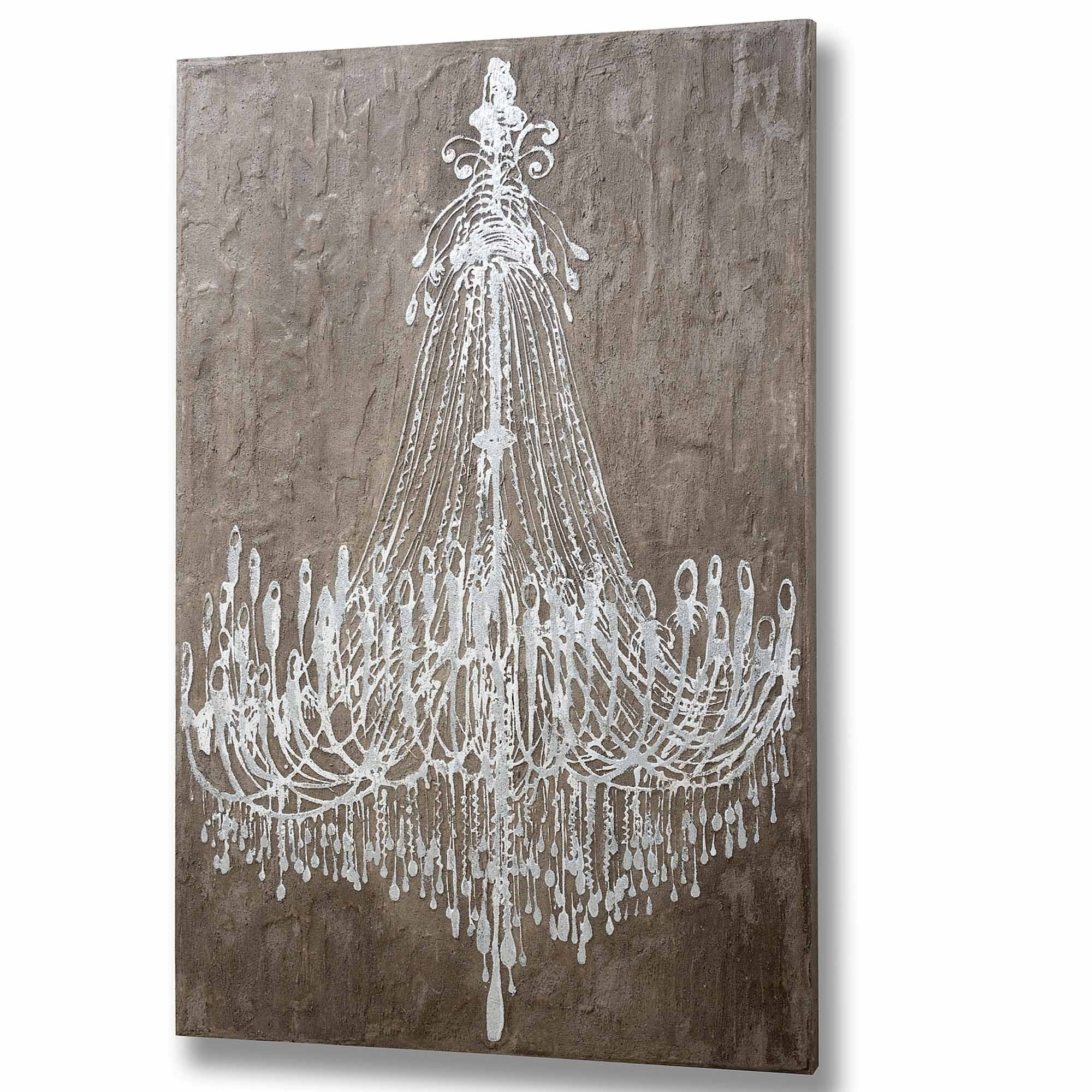 Chandelier Wall Art | Painting Art | Homesdirect365 Intended For Chandelier Wall Art (View 8 of 20)