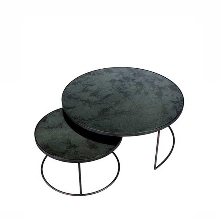 Charcoal Nesting Coffee Table Setnotre Monde — | Ecc in Set of Nesting Coffee Tables (Image 9 of 30)
