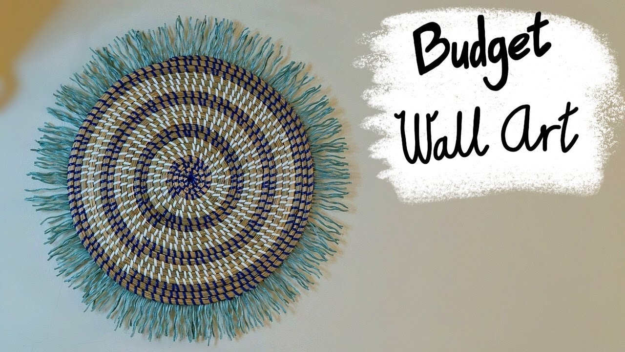 Cheap Anthropologie Inspired Diy Wall Art - Youtube for Anthropologie Wall Art (Image 6 of 20)
