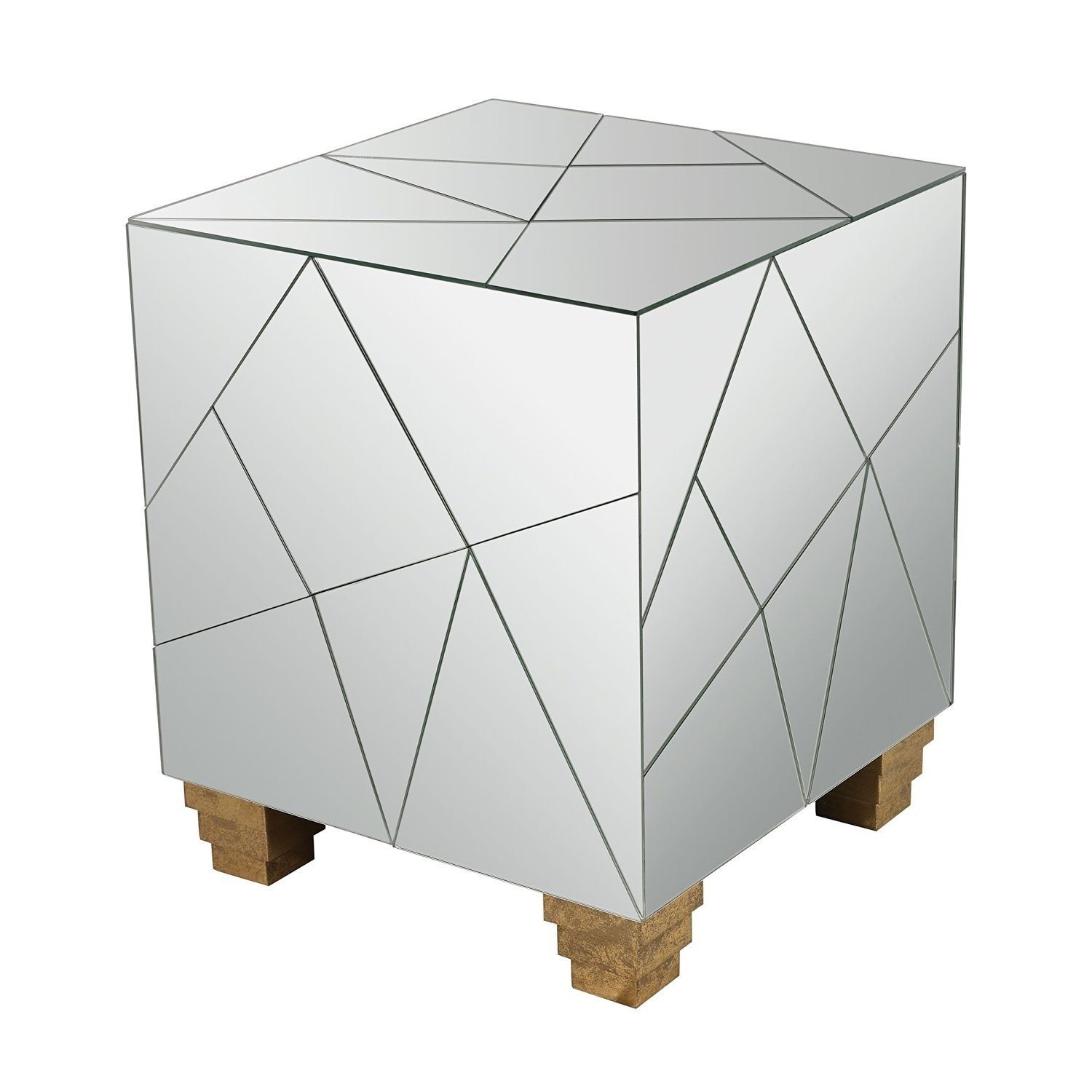 Cheap Mirrored Cube Vases, Find Mirrored Cube Vases Deals On Line At within Aged Iron Cube Tables (Image 6 of 30)