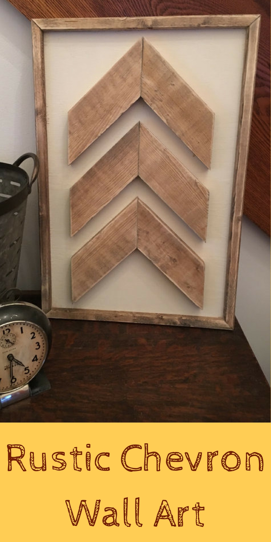 Chevron Wall Art, Wooden Wall Art, Rustic Wall Decor, Wooden within Chevron Wall Art (Image 9 of 20)
