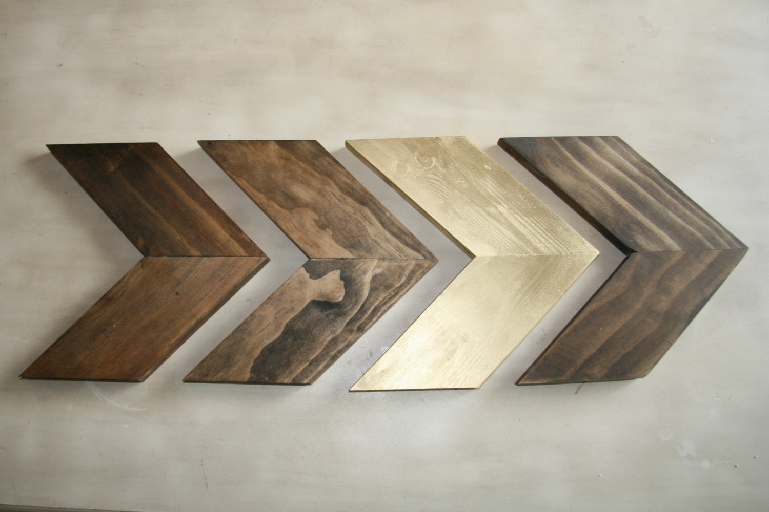 Chevron Wall Decor Best Of Wood Chevron Arrows Wood Arrow Wall Art with regard to Chevron Wall Art (Image 10 of 20)