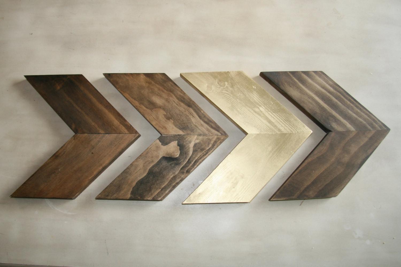 Chevron Wall Decor Best Of Wood Chevron Arrows Wood Arrow Wall Art With Regard To Chevron Wall Art (View 10 of 20)