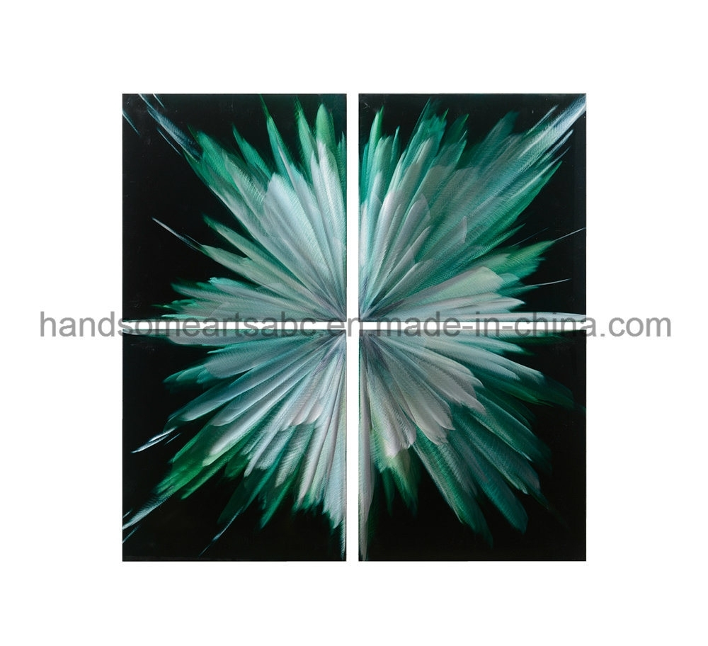 China Abstract Metal Wall Art With 3D Effect For Home Decor Throughout 3D Metal Wall Art (View 10 of 20)