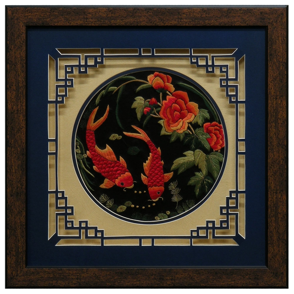 Chinese Wall Art - Elitflat regarding Chinese Wall Art (Image 8 of 20)