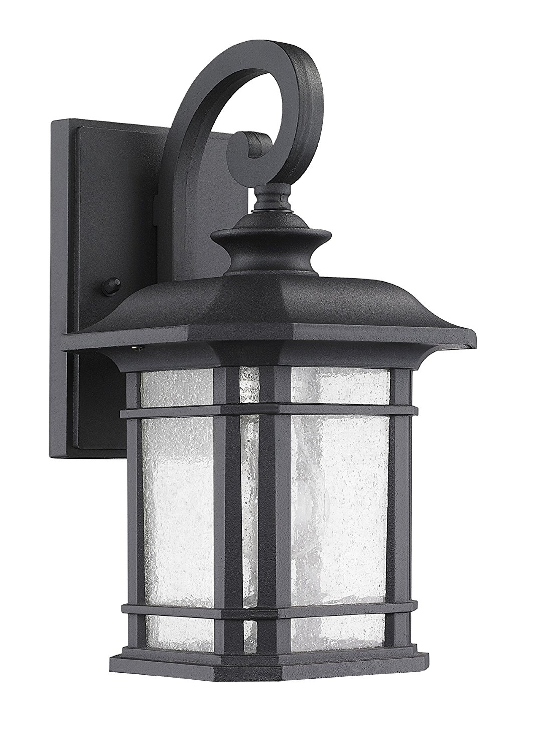 "Chloe Lighting Ch22021Bk17-Od1""franklin"" Transitional 1-Light Black with regard to Outdoor Wall Lanterns (Image 3 of 20)"