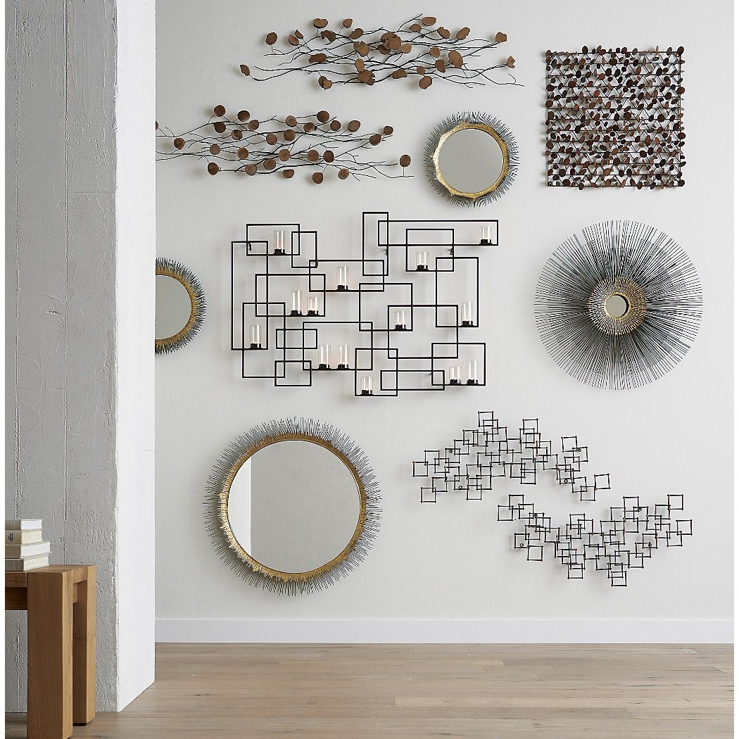 Circuit Metal Wall Candle Holder | Dream Home | Pinterest | Wall throughout Crate and Barrel Wall Art (Image 5 of 20)