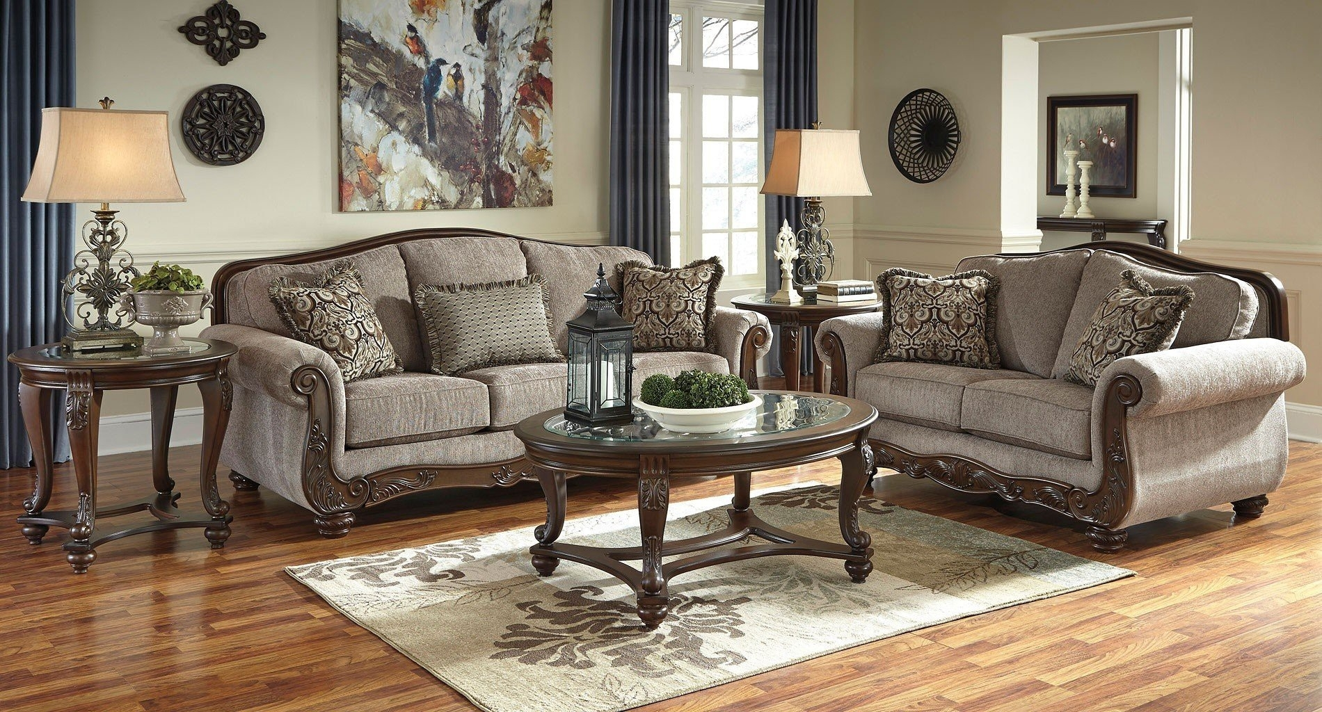 Classic Living Room Wall Art With Reference To Ashley Furniture within Ashley Furniture Wall Art (Image 14 of 20)