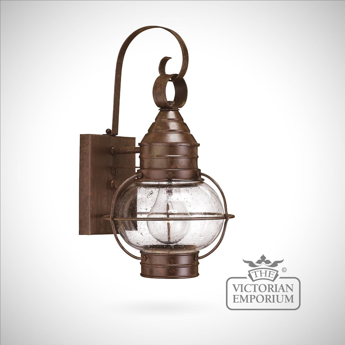 Classic Onion Wall Lantern In Sienna Bronze - Large | Outdoor Wall throughout Outdoor Lighting Onion Lanterns (Image 3 of 20)