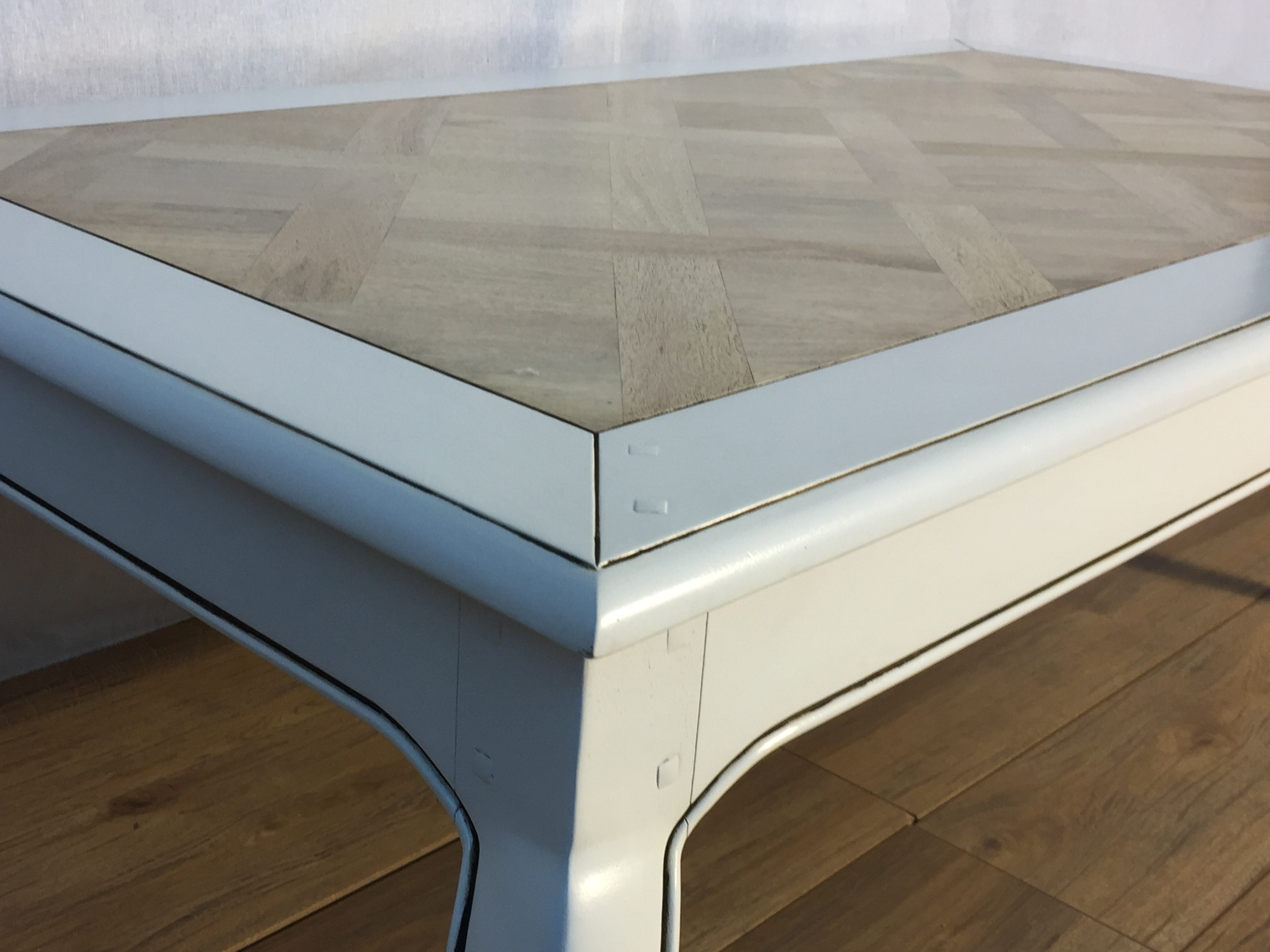 Classic Provincial Style Not So Shabby Chic Coffee Table (Lw9 with regard to Limewash Coffee Tables (Image 4 of 30)