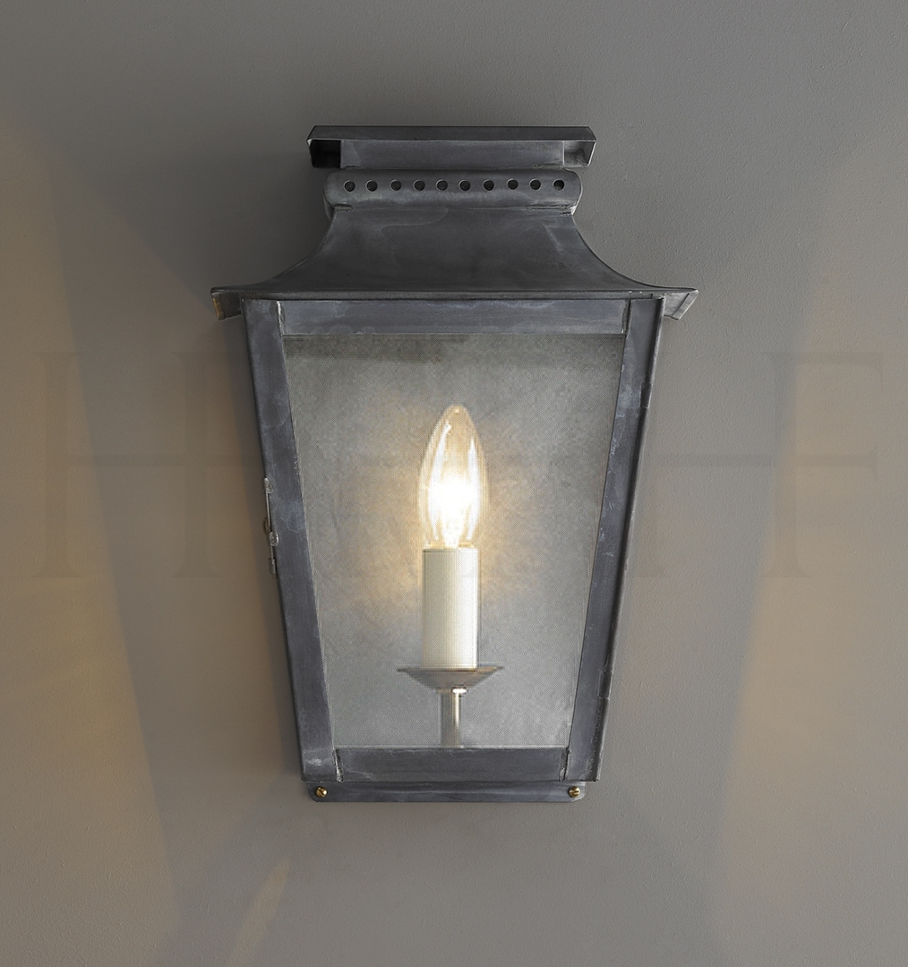 Classical Zeus Zinc Outdoor Wall Lantern for Zinc Outdoor Lanterns (Image 4 of 20)