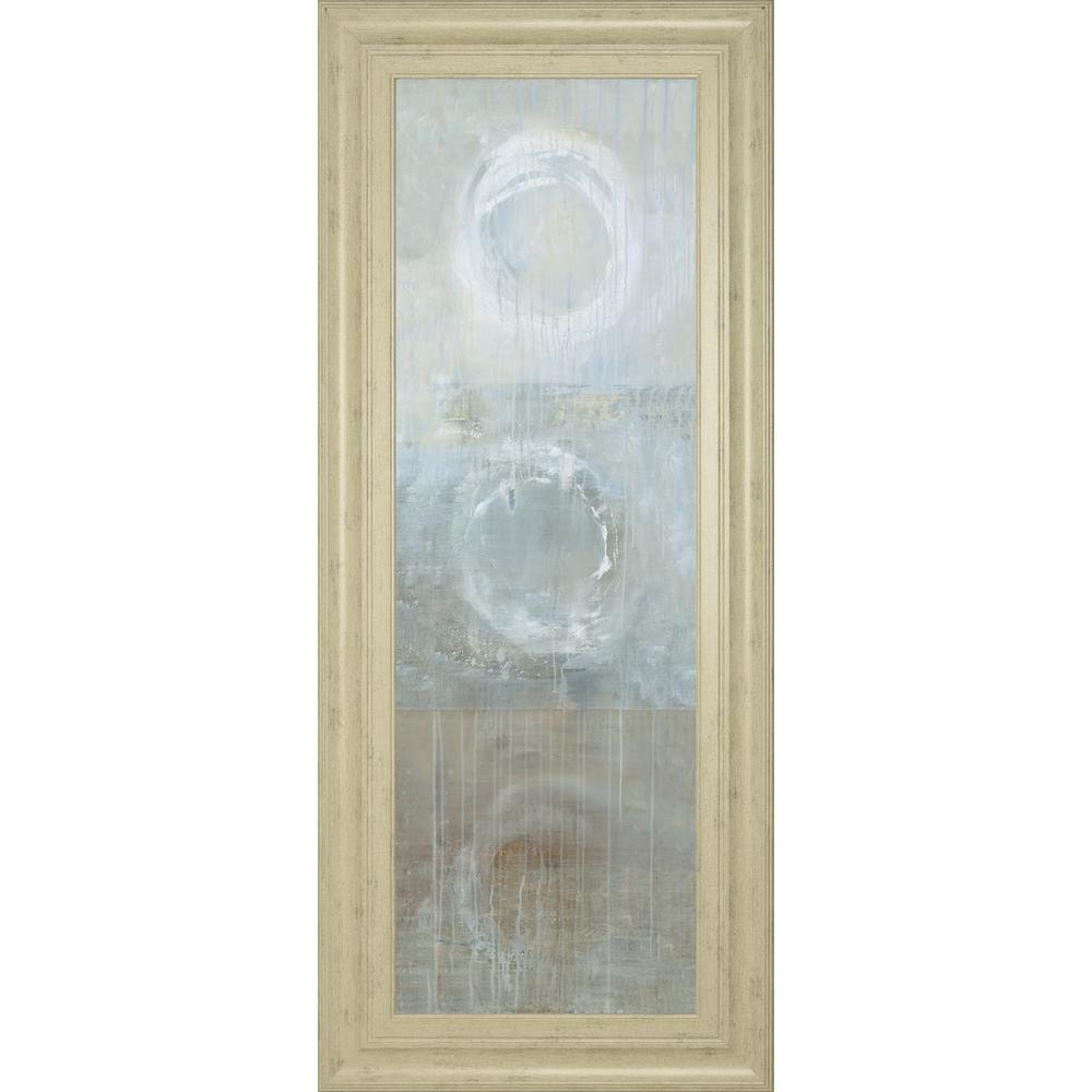 """Classy Art 18 In. X 42 In. """"evolu""""heather Ross Framed Printed within Ross Wall Art (Image 3 of 20)"""