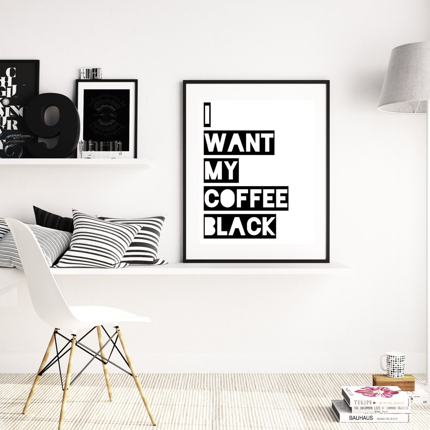 Coffee Art, Kitchen Decor, Coffee Wall Art, Coffee Print, Coffee with regard to Coffee Wall Art (Image 6 of 20)