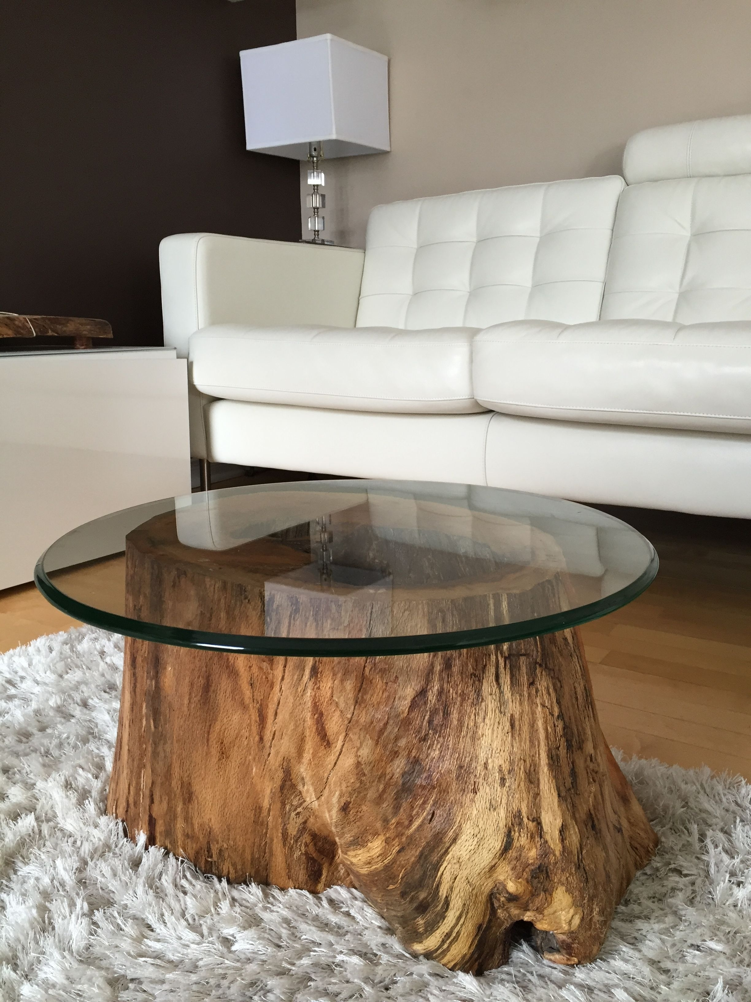 Coffee Tables 23 | Furniture/modern | Pinterest | Tree Trunk Coffee for Mill Large Leather Coffee Tables (Image 10 of 30)