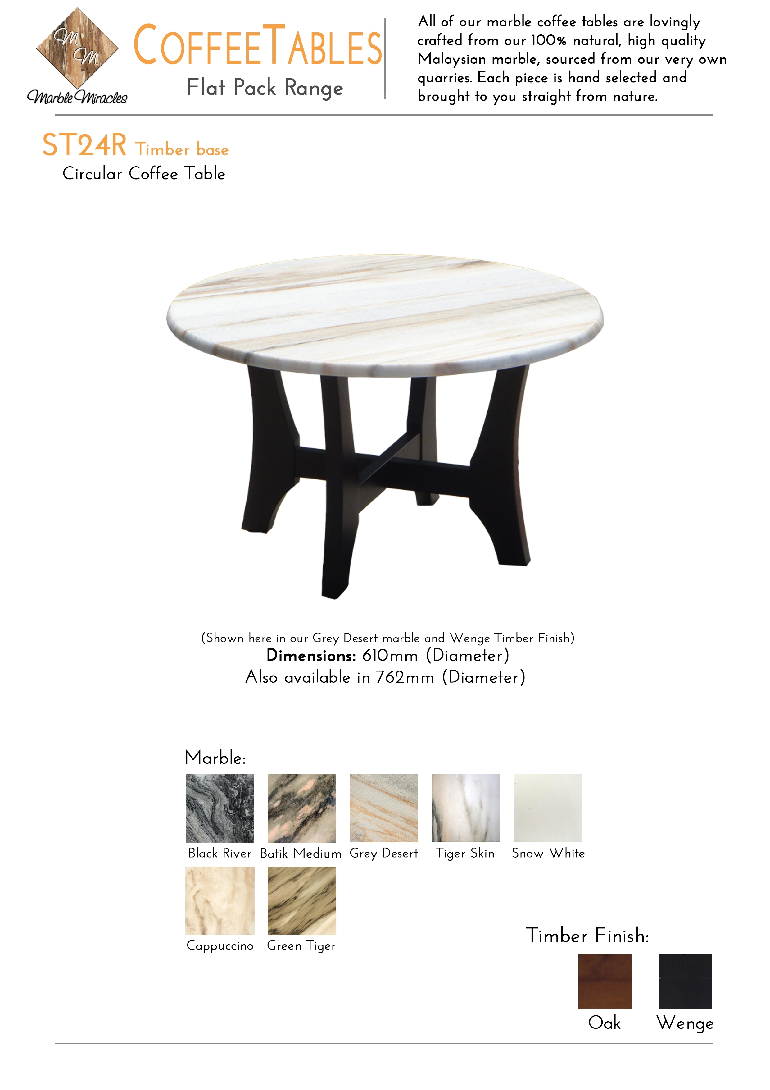 Coffee Tables | Marble Miracles Pty Ltd for Batik Coffee Tables (Image 14 of 30)