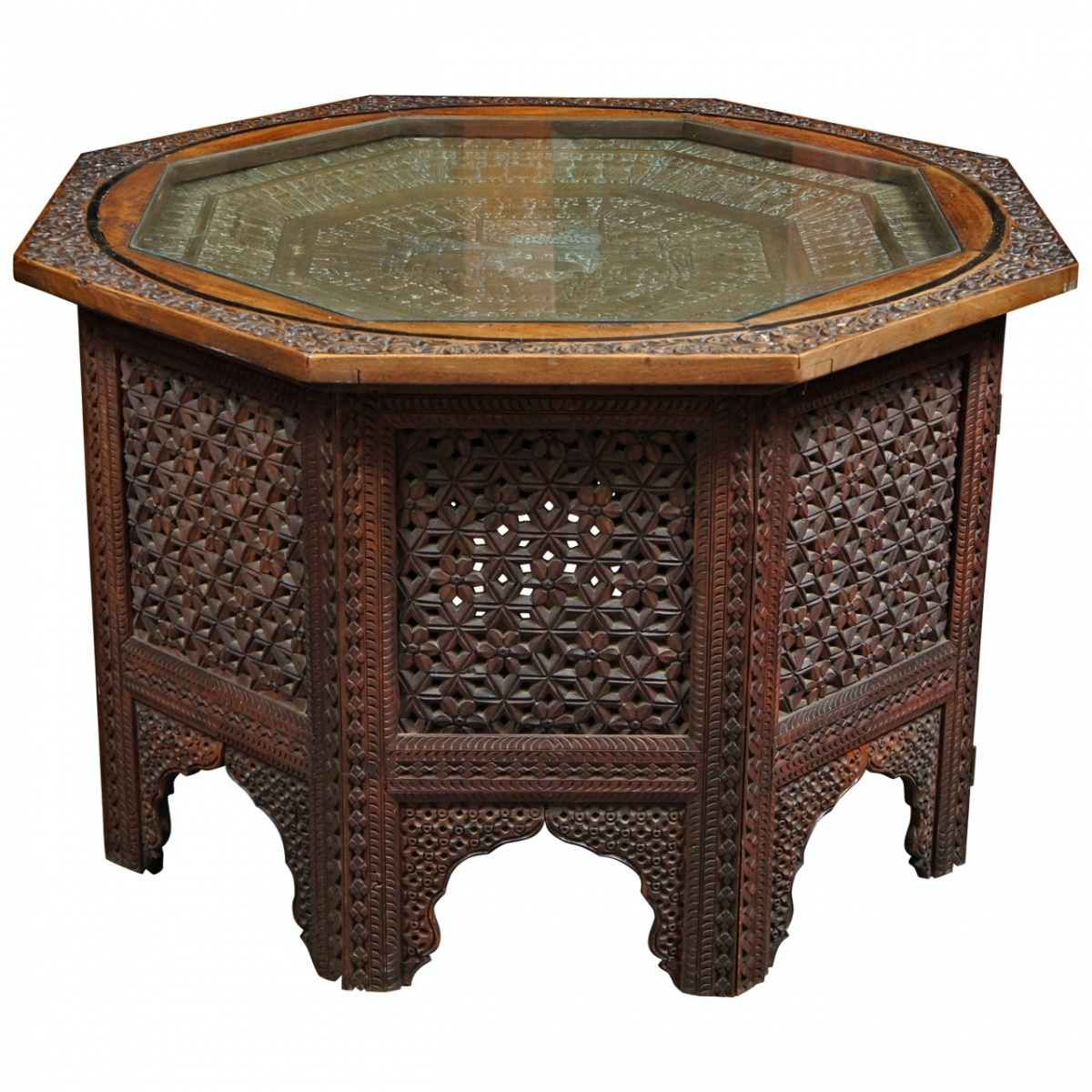 Collection In Carved Wood Coffee Table With Wooden Coffee Tables for Round Carved Wood Coffee Tables (Image 10 of 30)